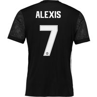 Manchester United Away Cup Shirt 2017-18 with Alexis 7 printing