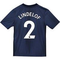 Manchester United Third Shirt 2018-19 - Kids with Lindelof 2 printing