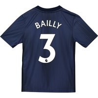 Manchester United Third Shirt 2018-19 - Kids with Bailly 3 printing