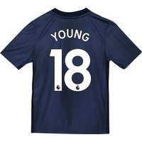 Manchester United Third Shirt 2018-19 - Kids with Young 18 printing