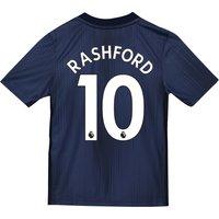 Manchester United Third Shirt 2018-19 - Kids with Rashford 10 printing
