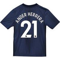 Manchester United Third Shirt 2018-19 - Kids with Ander Herrera 21 printing