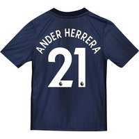 Manchester United Third Shirt 2018-19 - Kids with Ander Herrera 21 printing