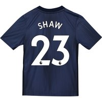 Manchester United Third Shirt 2018-19 - Kids with Shaw 23 printing