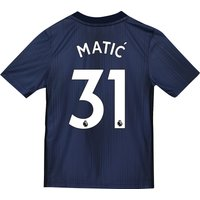 Manchester United Third Shirt 2018-19 - Kids with Matic 31 printing