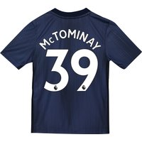 Manchester United Third Shirt 2018-19 - Kids with McTominay 39 printing
