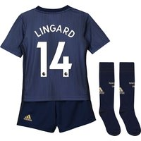 Manchester United Third Mini Kit 2018-19 with Lingard 14 printing