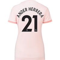 Manchester United Away Shirt 2018-19 - Womens with Ander Herrera 21 printing
