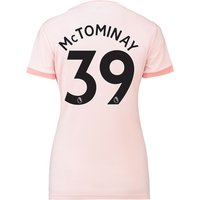 Manchester United Away Shirt 2018-19 - Womens with McTominay 39 printing