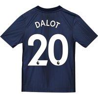 Manchester United Third Shirt 2018-19 - Kids with Dalot 20 printing
