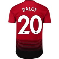 Manchester United Home Adi Zero Shirt 2018-19 with Dalot 20 printing