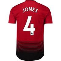 Manchester United Home Adi Zero Shirt 2018-19 with Jones 4 printing
