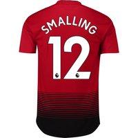 Manchester United Home Adi Zero Shirt 2018-19 with Smalling 12 printing