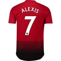 Manchester United Home Adi Zero Shirt 2018-19 with Alexis 7 printing