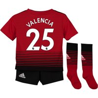 Manchester United Home Mini Kit 2018-19 with Valencia 25 printing