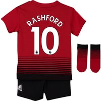 Manchester United Home Baby Kit 2018-19 with Rashford 10 printing
