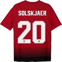 Manchester United Home Cup Shirt 2018-19 - Kids with Solskjaer 20 printing