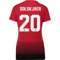 Manchester United Home Cup Shirt 2018-19 - Womens with Solskjaer 20 printing