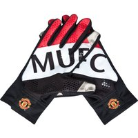 Manchester United Fan Glove - Black/White/Red
