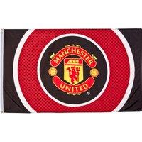 Manchester United Bullseye Flag