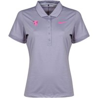 Manchester United Nike Golf Polo - Womens Grey