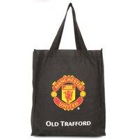 Manchester United Reusable Tote Bag - Black