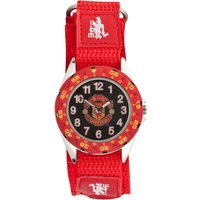 Manchester United Analogue Velcro Watch - Kids