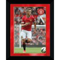 Manchester United 2014/15 Januzaj Framed Print - 16 x 12 Inch