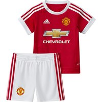 Manchester United Home Baby Kit 2015/16 Red