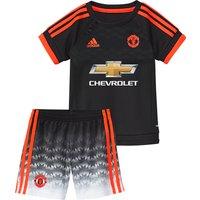 Manchester United Third Baby Kit 2015/16 Black