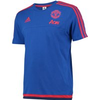 Manchester United Training T-shirt Royal Blue