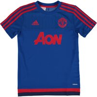 Manchester United Training Jersey - Kids Royal Blue