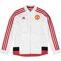 Manchester United Anthem Jacket - Kids White