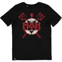Manchester United Graphic T-Shirt - Kids Black