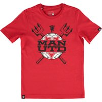 Manchester United Graphic T-Shirt - Kids Red