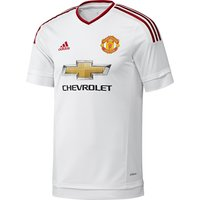 Manchester United Away Adi Zero Shirt 2015/16 White