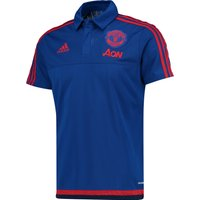 Manchester United Training Polo Royal Blue