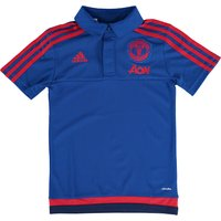 Manchester United Training Polo - Kids Royal Blue