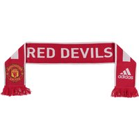 Manchester United Scarf Red