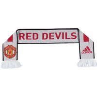 Manchester United Scarf White