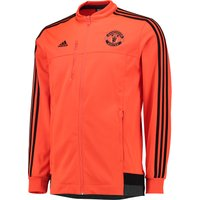 Manchester United Anthem Jacket - Orange Orange