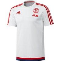 Manchester United Training T-Shirt - Kids White