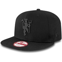 Manchester United New Era Black on Black Devil 9FIFTY Snapback Cap - Black - Adult