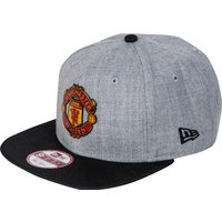 Manchester United New Era 9FIFTY Snapback Cap - Graphite Heather - Adult