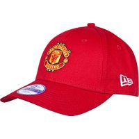 Manchester United New Era Basic  9FORTY Adjustable Cap  - Red - Kids
