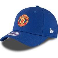 Manchester United Manchester United New Era Basic 9FORTY Adjustable Cap - Royal - Kids