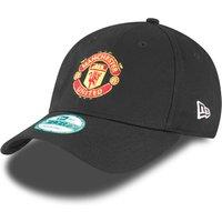 Manchester United New Era Basic 9FOURTY Adjustable Cap - Black - Adult