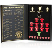 Manchester United 1999 Treble Limited Edition Shirt Badge Collectors Set