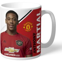 Manchester United Personalised Signature Mug - Martial