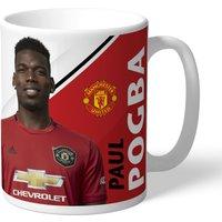 Manchester United Personalised Signature Mug - Pogba